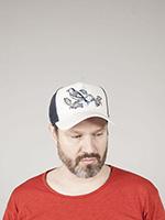 Бейсболка STETSON арт. 7756103 TRUCKER CAP BIRD (серый)